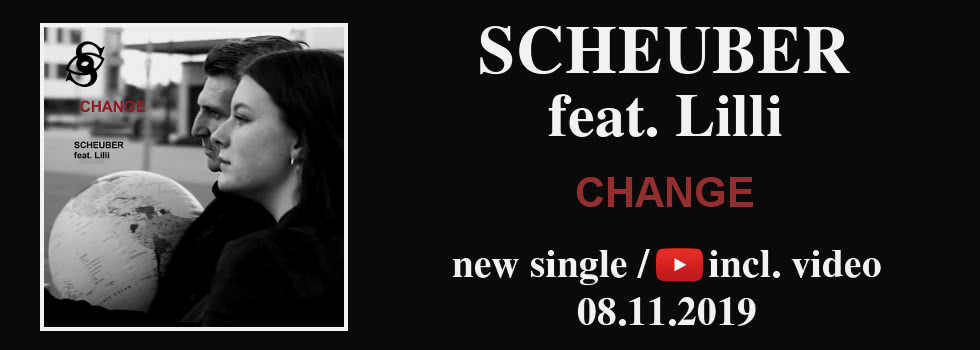 Scheuber feat. Lilli - new single 08.11.2019