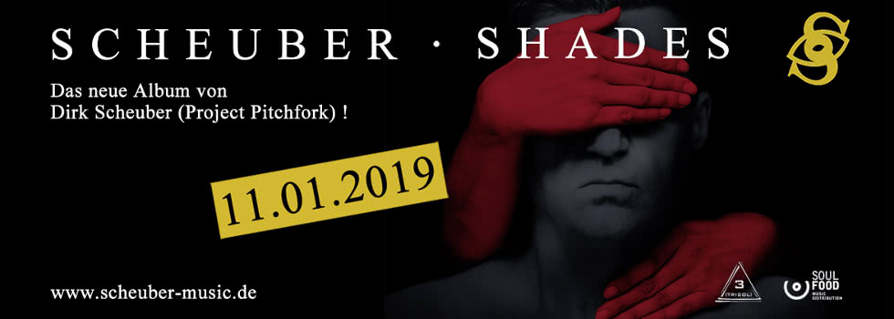 Scheuber Shades - new album 11.01.2019